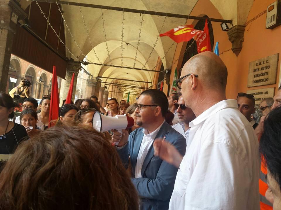 Fiera taddia Filcams Cgil Bologna 7 luglio 2016